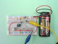 LM358で作る移相型発振器