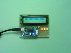 USB制御液晶モジュール駆動基板